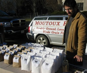Rob Moutoux at the Dupont market last December