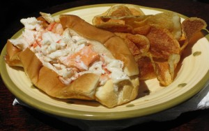 Voila: The perfect Maine lobster roll