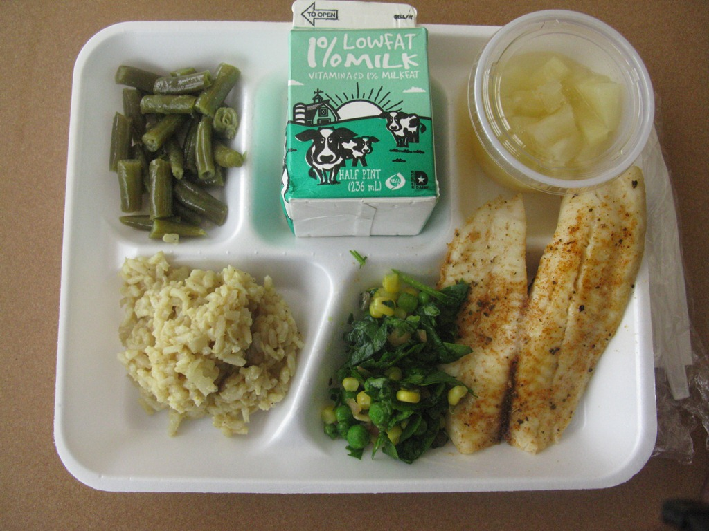 Better d c school food february 2012 for Lunch food