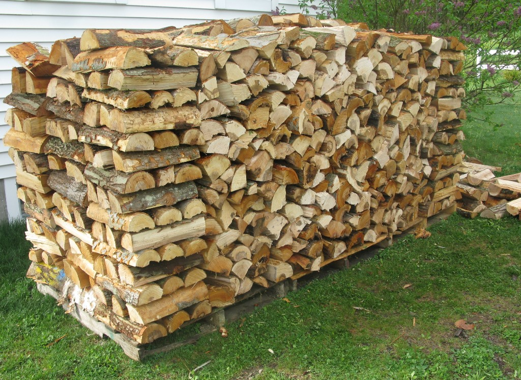 How do you stack your firewood the slow cook